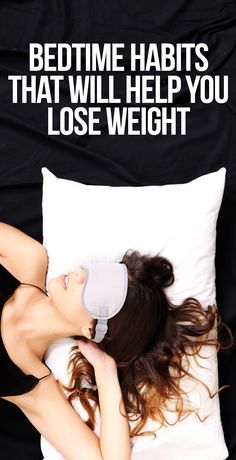 Shed pounds while you sleep.