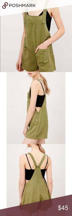 Bdg overall romper Never worn with tags Urban Outfitters Other