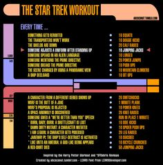 Star Trek workout! Submission :)  Want to see more workouts like this one? Follow us here.