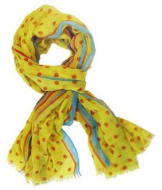 trendy scarves, fun scarves, Spring 2012 fashion accessories, polka dot scarf, pay less shoes — Cents Of Style