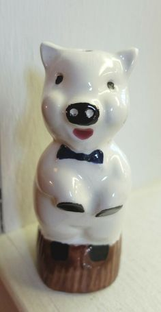 2 Vintage JOSEF Originals Persian Kittens Cat Figurines Glossy Cream htf Porcelain Ceramic