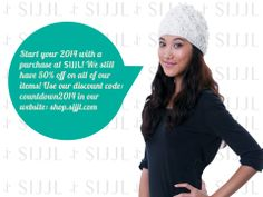 After New Year Celebration activity is definitely shopping! Our 50% off offer is still open so grab your SIJJL now! Discount Code: countdown2014 Website: shop.sijjl.com/ Like us: facebook.com/SijjlHats