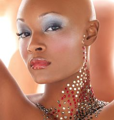 #11: Bald Is beautiful ... Great shots from America's Next Top Model photo shoots.