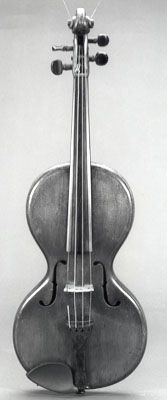 NMM 1298.  Front of violin by Ivan Petrovitsch, Moscow, ca. 1880-1900