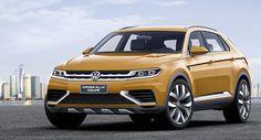 VW Cross Blue Concept Coupe