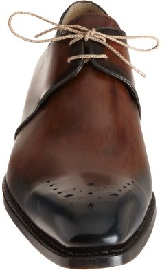 Harris Medallion Toe Blucher