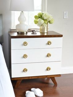One Room Challenge: Nightstands + Chairs