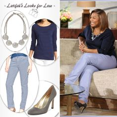 Queen Latifah Look: Friday 1/24 from @Rick- Cawthard Recessionista