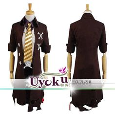 Blue Exorcist COS Outfit Ao no Exorcist King of Earth Amaimon Cosplay Costume
