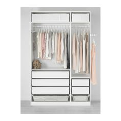 IKEA offers everything from living room furniture to mattresses and bedroom furniture so that you can design your life at home. Check out our furniture and home furnishings! Pax Closet, Pax Wardrobe, Modern Wardrobe, Ikea 2015, Decoration Ikea, Wardrobe Furniture, Closet Layout, Small Space Storage, Closet System