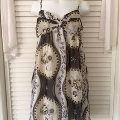 Free People Chiffon Dress Size M - Free People - chiffon eternal spring style dress - with pockets! - stretchy back and sticky bra liner - adjustable straps Free People Dresses Mini