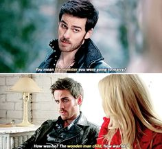 Killian Jones + jealousy