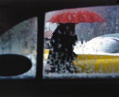 Primary colors/rainy windows