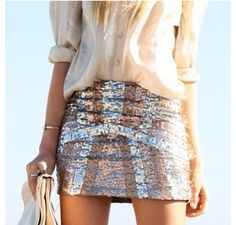 Sequence skirt.