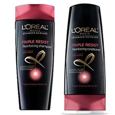 LOREAL Triple Resist ReInforcing SET Shampoo  Conditioner 126ozeach -- Check out this great product. (This is an affiliate link) #ShampooandConditionerSets