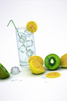 Lemon Water Android Wallpaper HD