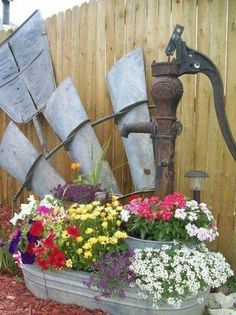 Rustic Garden Repurposing.... >> Look into even more by going to the photo link