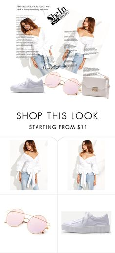 """""""White diva 1"""" by streili ❤ liked on Polyvore featuring WithChic, white, jean, Diva and streili"""