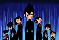 Ashi and her sisters(killed) Ashi Samurai Jack, Samurai Jack Aku, Cartoon Network, Anime Nerd, Anime Manga, Scary Art, Creepy, Scott Pilgrim, Jack And Jack