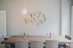 Paint colour - Offshore by Plascon - matt Plascon Paint, Light Paint Colors, Bistro Lights, Home Living Room, House Tours, Dining Table, Lounge, Beach Road, Interior