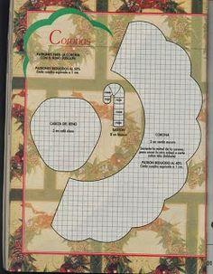 MOLDES DE E.V.A E FELTRO DA JUJU : GUIRLANDAS NATAL Merry Christmas, Templates, Cards, Natal Diy, Angel, Blog, Christmas Crafts, Wreaths, Embellishments