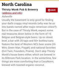 Best beer bar in NC