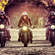 3 Cafe Racers
