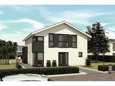 Haus bauen modern satteldach  Independent 158 - #Einfamilienhaus von STIMMO Hausbau GmbH ...