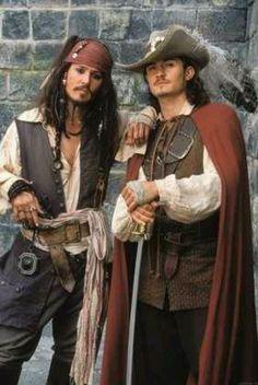 Jack Sparrow & Will Turner