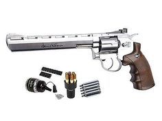 BBs and Pellets 178889: Dan Wesson 8Andquot: Co2 Bb Revolver Kit, Silver - 0.177 Caliber -> BUY IT NOW ONLY: $135.48 on eBay!