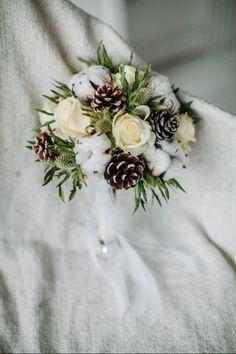 Зимний букет невесты!