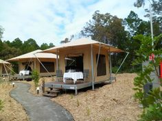 9 camping spots in Southeast Queensland glamping 15 Bell Tent Camping, Camping Glamping, Luxury Camping, Camping Resort, Kayak Camping, Tent Platform, Camping Spots, Camping Tips, Backpacking Meals