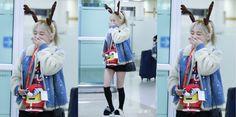 テヨン、クリスマスファッションに照れまくりღ空港151225 - Taeyeon Candy News ☺ Snsd #taeyeon #snsd