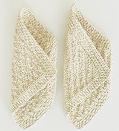 Very interesting for blankets Knitted Washcloth Patterns, Knitted Washcloths, Crochet Dishcloths, Knit Crochet, Knitting Stitches, Knitting Patterns Free, Free Knitting, Baby Knitting, Lace Patterns