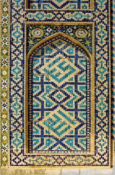 Tilla-Kari madrasah, 1646-1660, ( Photography: Erdinç Bakla, 1994)