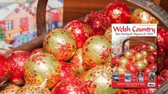 Welsh Country Magazine is essential for those passionate about the Welsh countryside, Welsh Food, Arts, the history of Wales and its people. History Of Wales, Welsh Country, Welsh Recipes, Country Magazine, Dan, Christmas Bulbs, November, Editorial, Arts And Crafts