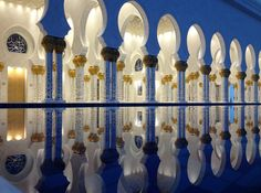 """Zayed Mosque Reflection""  - 7 Tips for Better iPhone Photography"