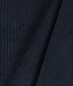 Navy Blue 11 Wale Corduroy Fabric