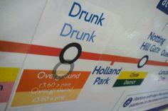 Fake London Underground signs...hilarious!