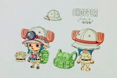 Heart of Gold. TonyTony Chopper / Tony Tony Chopper color sheet, Character design, Official reference, Settei