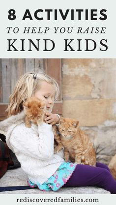 Raise kind kids and show them just how awesome they can be. Here's 8 simple ways to give back to the community and further afield. Join our conspiracy of kindness with these family acts of kindness!