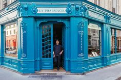 vibrant façades + eclectic ornamentation tell the story of paris through its storefronts