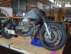 Prepared by BF (Bobber Fucker) Motorcycles of Lyon. B F #28 GUZZI 850 T3 - #BFMotorcycles - #BobberFucker