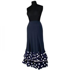 Flamenco Skirt for performances Model TRIANA K