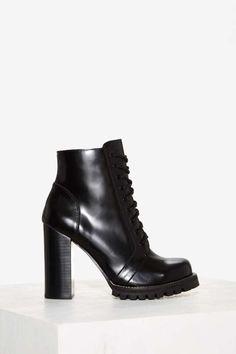 Jeffrey Campbell Legion Box Leather Boot