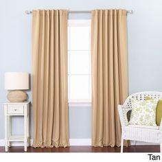 3 Inch Rod Pocket Blackout Curtains