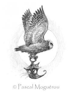 Сказочные иллюстрации Pascal Moguerou (205 работ)