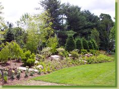 Emerson Inn project in Phoenicia Landscaping With Rocks, Stepping Stones, Golf Courses, Landscape Rocks, Country Roads, Outdoor Decor, Projects, Log Projects