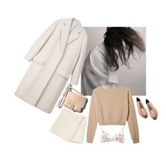 """""""nude"""" by northglow ❤ liked on Polyvore featuring Marni, CÉLINE, HarLex and Acne Studios"""
