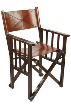 You may have always wanted to sit in a classical leather director's chair, this would make a perfect Christmas country gift. Chair, Luxury, Leather, Furniture, Home Decor, Decoration Home, Room Decor, Home Furnishings, Stool